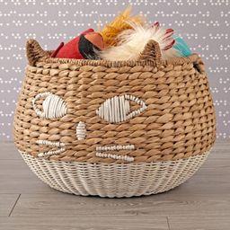 Woven Cat Basket + Reviews | Crate and Barrel | Crate & Barrel