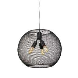 Bergen Globe Pendant, Matte Black | Lights.com