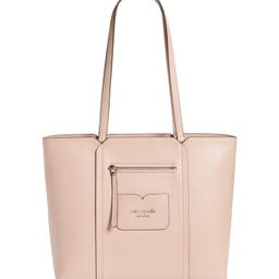 large florence leather tote | Nordstrom