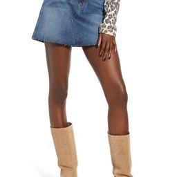 Emily Stretch Denim Miniskirt | Nordstrom