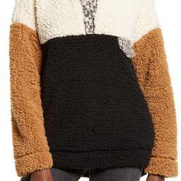 Wubby Colorblock Fleece Pullover | Nordstrom