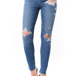 The Great Jones Ripped Ankle Skinny Jeans   Nordstrom