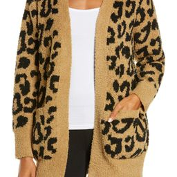 CozyChic™ Leopard Cardigan   Nordstrom