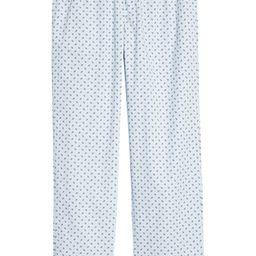 Poplin Pajama Pants   Nordstrom