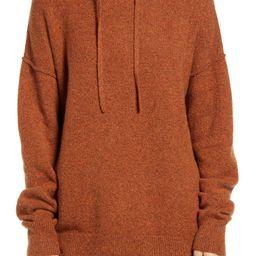 Cotton Blend Sweater Hoodie   Nordstrom