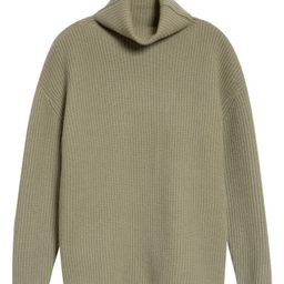 Funnel Neck Cashmere Tunic Sweater   Nordstrom