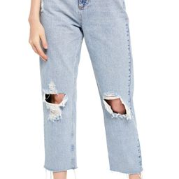 Pax Ripped High Waist Jeans   Nordstrom