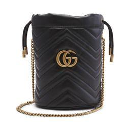 Gucci GG Marmont Bucket Bag Mini Black   StockX