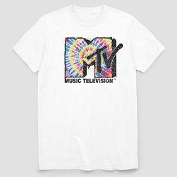 Men's MTV Short Sleeve Graphic T-Shirt White | Target