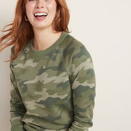 Relaxed Vintage Crew-Neck Sweatshirt for Women   Old Navy (US)