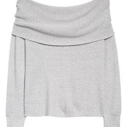 Off the Shoulder Sweater   Nordstrom