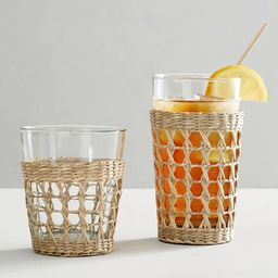 Cane Drinking Glasses   Pottery Barn (US)