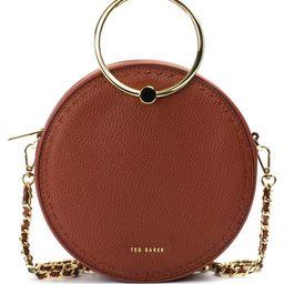Ted Baker London Madddie Circle Leather Crossbody Bag | Nordstrom | Nordstrom