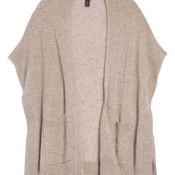 Easy Throw-On Cashmere Ruana   Nordstrom