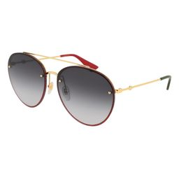 62mm Gradient Oversize Aviator Sunglasses | Nordstrom