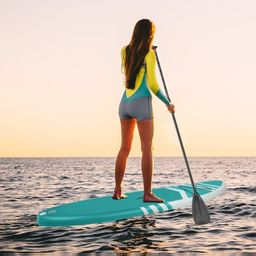 10' Inflatable SUP Stand up Paddle Board, 551 Lbs Capacity Inflatable Paddle Board for Youth/Adult,    Walmart (US)