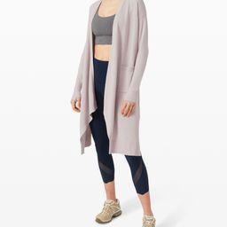 Lunar Lengths Wrap Sweater   Lululemon (US)