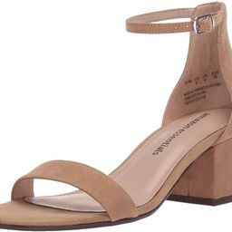 Women's Two Strap Heeled Sandal | Amazon (US)