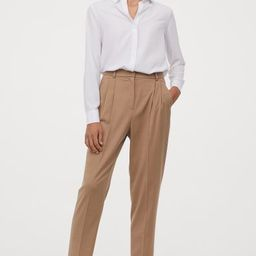Tailored trousers | H&M (UK, IE, MY, IN, SG, PH, TW, HK, KR)