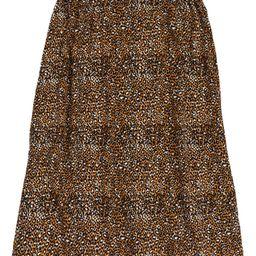 Leopard Print Midi Skirt | Nordstrom