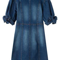 Belted Cuff Denim Dress | Nordstrom