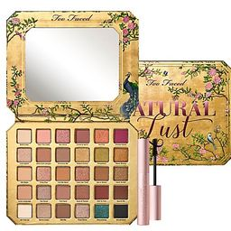 Too Faced Natural Lust Eyeshadow Palette with Travel Mascara   QVC
