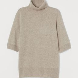 Cashmere polo-neck jumper   H&M (UK, IE, MY, IN, SG, PH, TW, HK, KR)