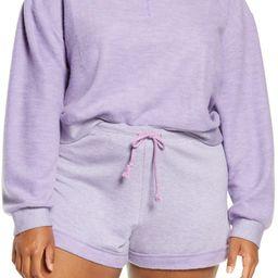 Half Zip Fleece Hoodie | Nordstrom