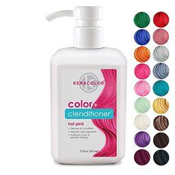 Keracolor Clenditioner Hair Dye (18 Colors) Depositing Color Conditioner Colorwash, Semi Permanen... | Amazon (US)