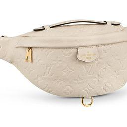 Louis Vuitton Bumbag Monogram Empreinte Creme   StockX