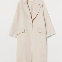 Oversized Wool-blend Coat | H&M (US)