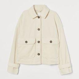 Boxy Corduroy Jacket | H&M (US)