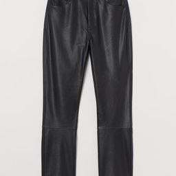 Faux Leather Pants | H&M (US)