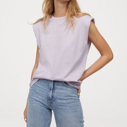 Shoulder-pad T-shirt | H&M (US)