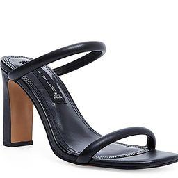 STEVEN NEW YORK Jacee Sandal - Women's - Black Leather   DSW