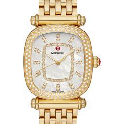 Caber Isle Diamond Dial Diamond Watch Head & Bracelet, 32mm | Nordstrom