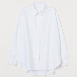Skjorta i bomull | H&M (DE, AT, DK,  HU, NL, NO, FI, PO, SE)