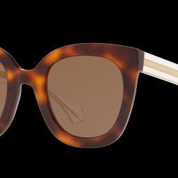 Gucci Woman Gg0564s - Frame color: Tortoise, Lens color: Brown | Sunglass Hut EU