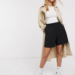 Weekday Aquatint Shorts-Black | ASOS (Global)