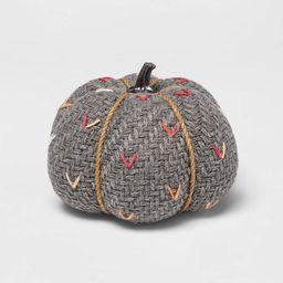 Medium Tweed with Stitch Fabric Harvest Pumpkin - Spritz™ | Target