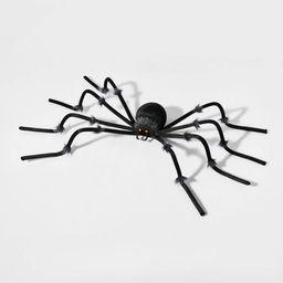 Large Black Plush Spider Halloween Decorative Prop - Hyde & EEK! Boutique™ | Target
