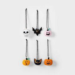 6pk Resin Halloween Ornaments - Hyde & EEK! Boutique™ | Target