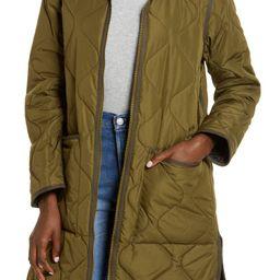 Reversible Quilted Longline Jacket   Nordstrom