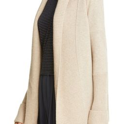 Rib Front Wool & Cashmere Cardigan   Nordstrom