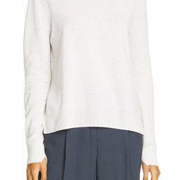 Mock Neck Step Hem Wool & Cashmere Sweater   Nordstrom