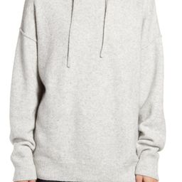 Cotton Blend Sweater Hoodie | Nordstrom