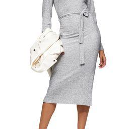 Long Sleeve Knit Midi Dress | Nordstrom