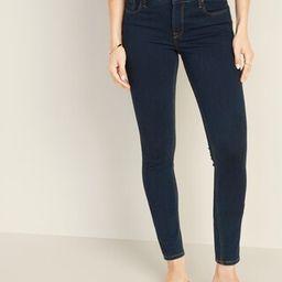 Mid-Rise 24/7 Sculpt Rockstar Super Skinny Jeans For Women | Old Navy (US)