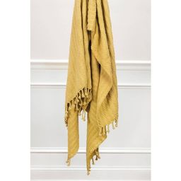 """50""""x60"""" Textured Striped Throw - Rizzy Home 