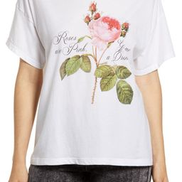 Roses Are Pink Graphic Tee   Nordstrom